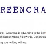Screencraft Fellowship 2021, Semi Finalist - Garamba